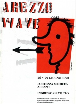 Arezzo Wave 1990 - Main Stage