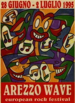 Arezzo Wave 1996 - main stage