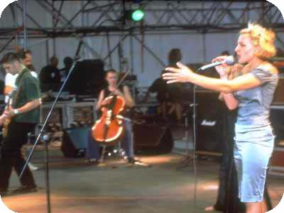arezzo Wave 1999 - main stage