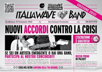 Italia Wave Band 2012 Valle d'Aosta