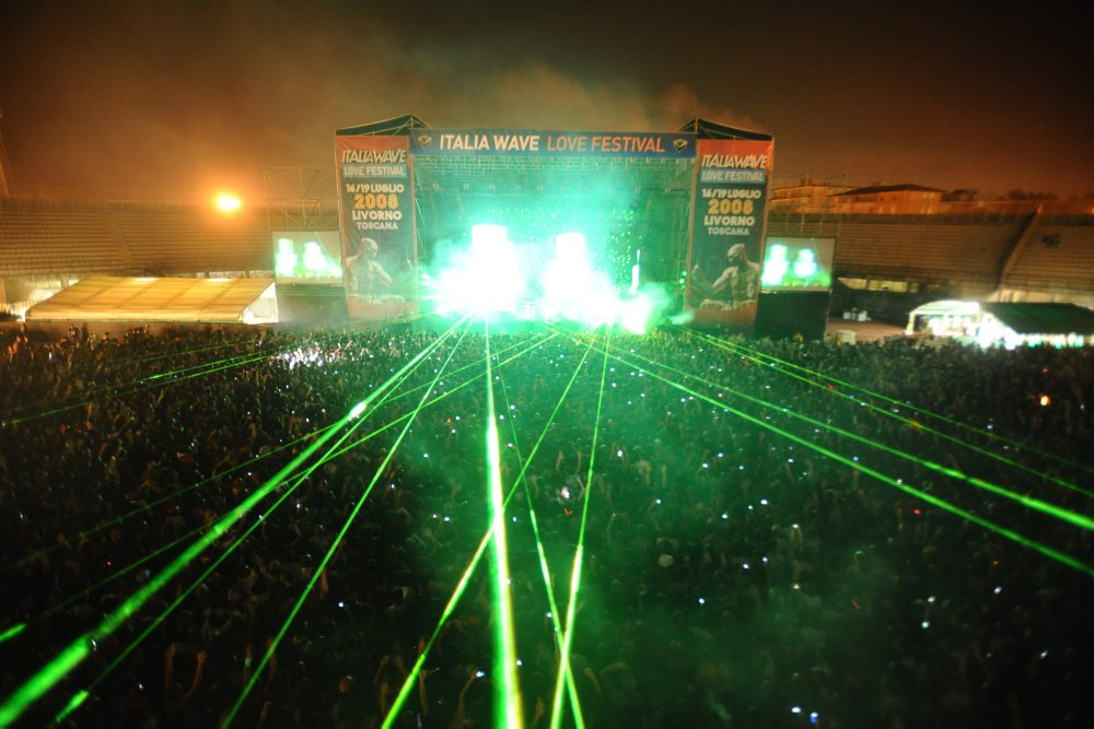 italia wave 2008 - main stage